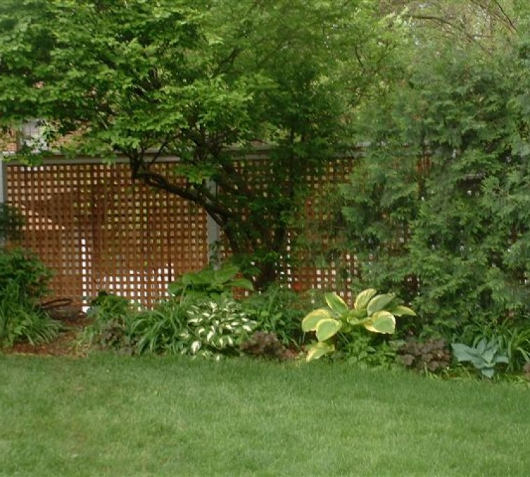 American Fence - Lincoln - Wood Fencing, 1032 Lattice Fence