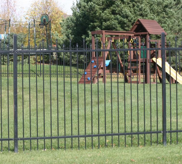 American Fence - Lincoln - Ornamental Fencing, 1065 6'