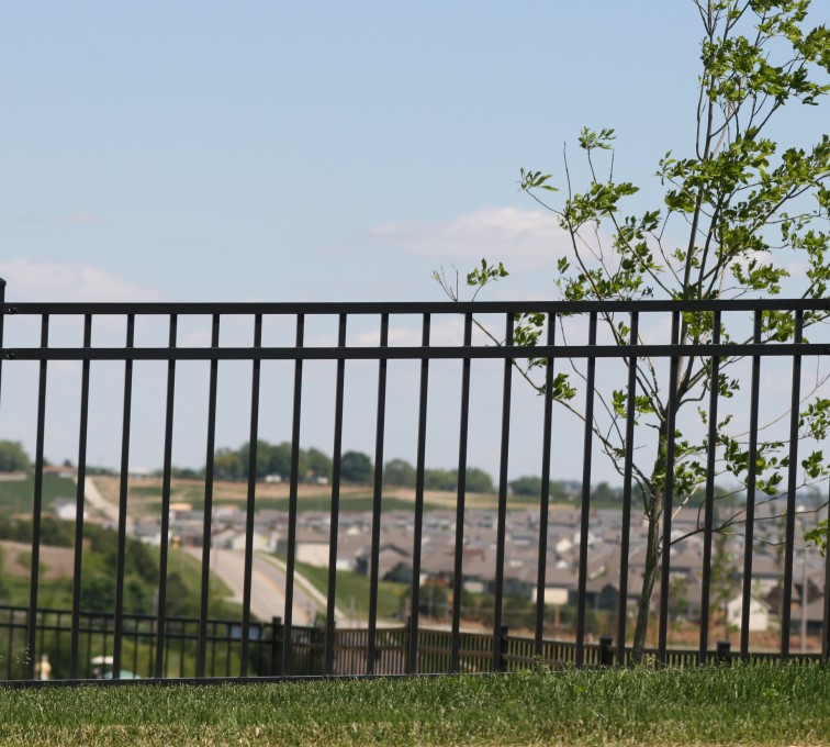 American Fence - Lincoln - Ornamental Fencing, 1069 4' Flat Top