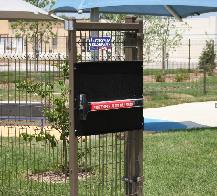 American Fence - Lincoln - Woven & Welded Wire Fencing, 1241 Omega Panic Door