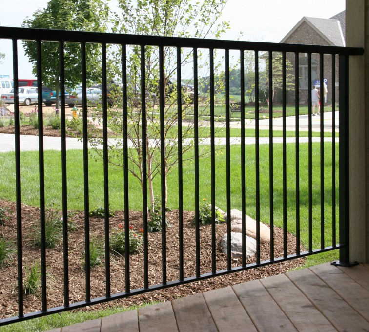American Fence - Lincoln - Custom Railing, 2211 Deck Railing