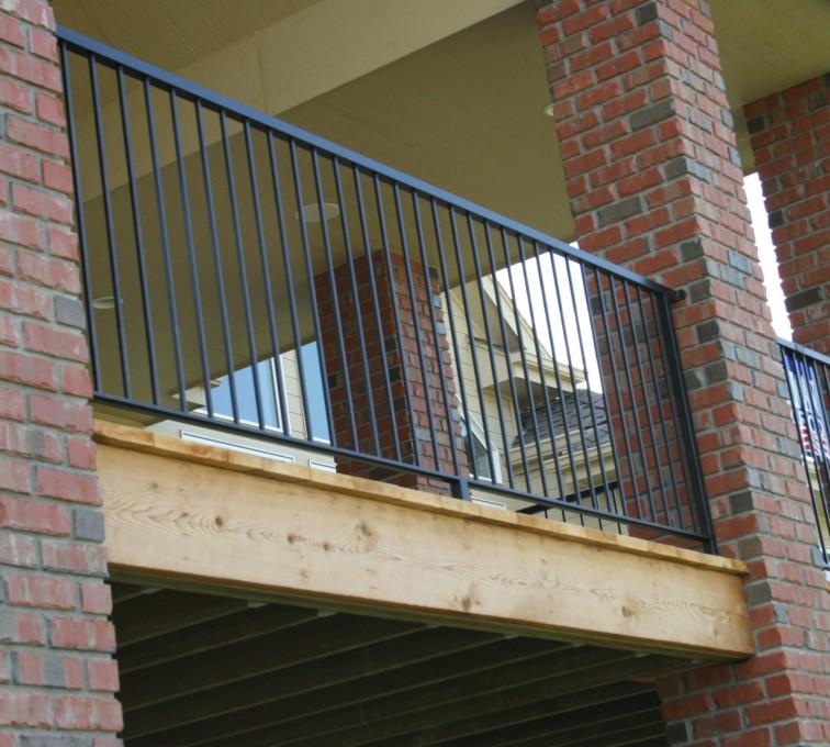 American Fence - Lincoln - Custom Railing, 2214 Deck Railing