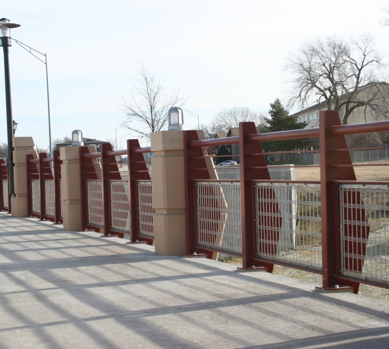 American Fence - Lincoln - Custom Railing, 2227 Stainless Steel In-fill Railing