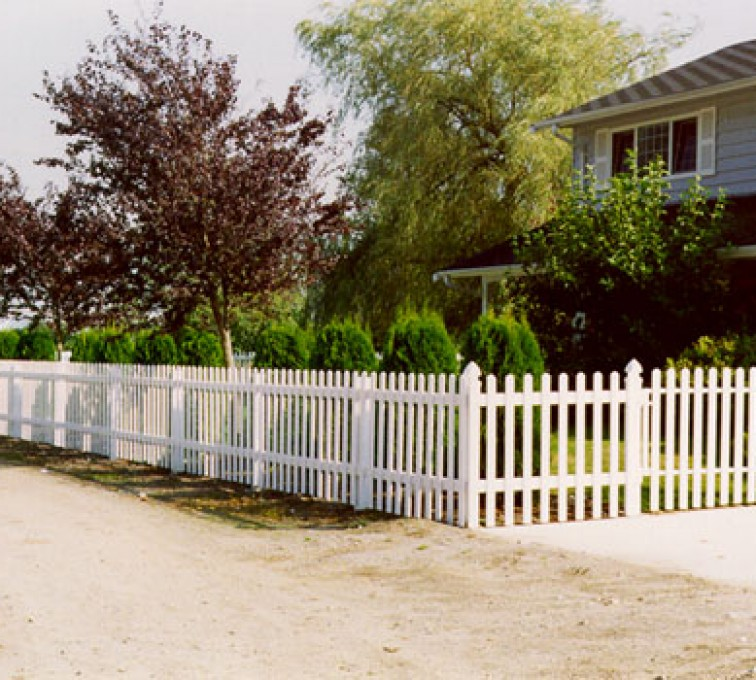 American Fence - Lincoln - Vinyl Fencing, Straight Picket 1 568