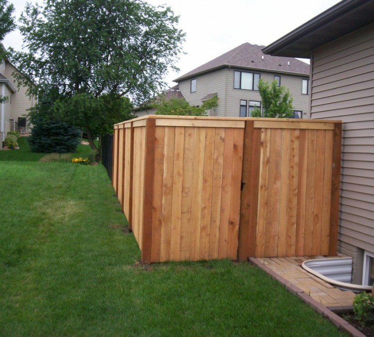 American Fence - Lincoln - Wood Fencing, 6' Capboard - AFC - IA