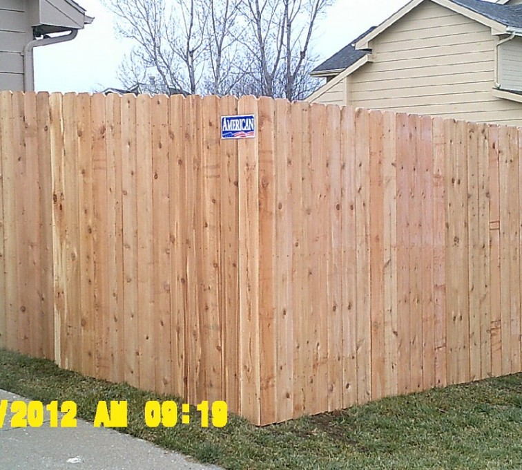 American Fence - Lincoln - Wood Fencing, 6' Wood Privacy - AFC - IA