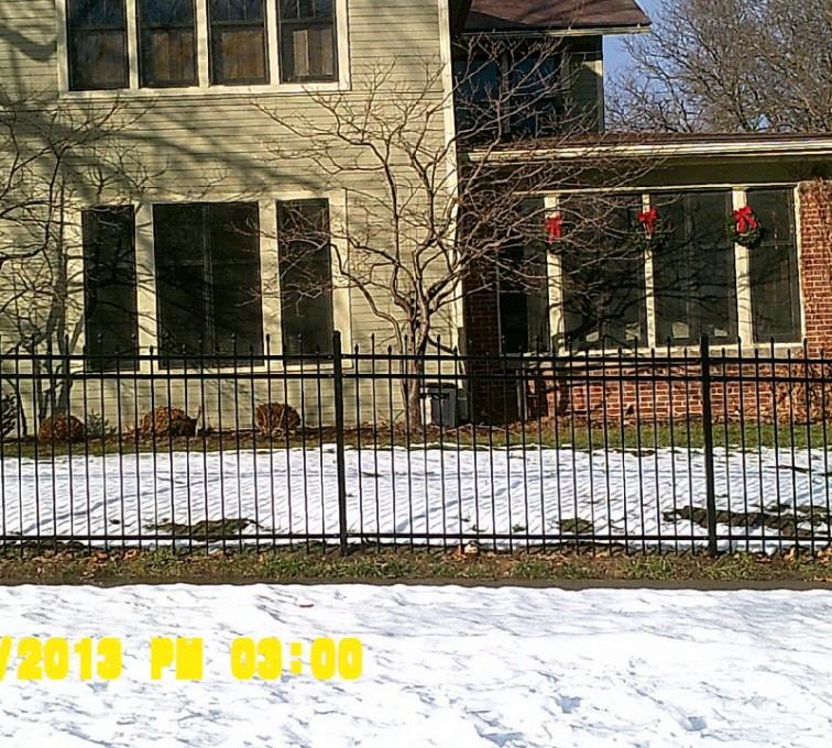 American Fence - Lincoln - Ornamental Fencing, 6' - AFC - IA