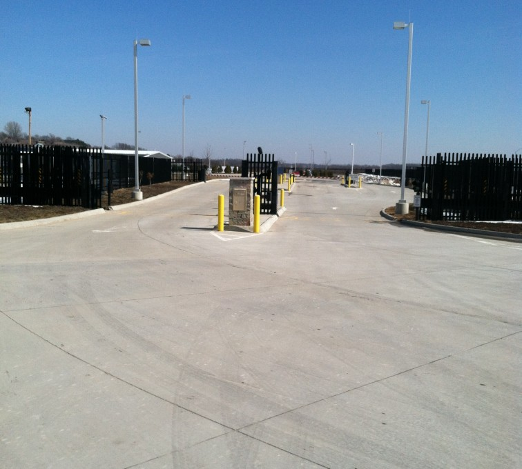 American Fence - Lincoln - K-Rated Vehicle Restraint Systems Fencing, 8' Crash Rated Ornamental Impasse 7 - AFC - IA