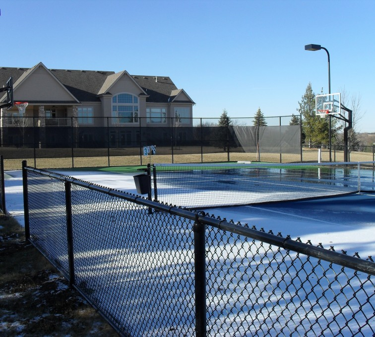 American Fence - Lincoln - Sports Fencing, BVCL Tennis Court