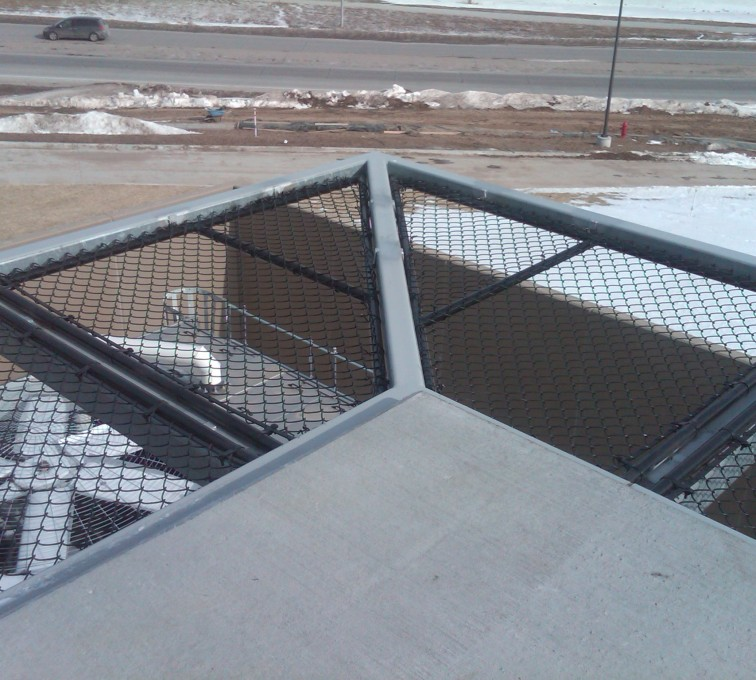 American Fence - Lincoln - Chain Link Fencing, Bellevue Hospital 25th and Cornhusker(10)