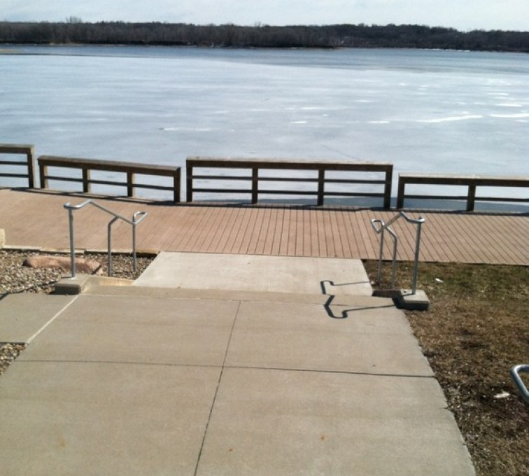 American Fence - Lincoln - Custom Railing,Custom Galvanized Handrail 2 - AFC - IA