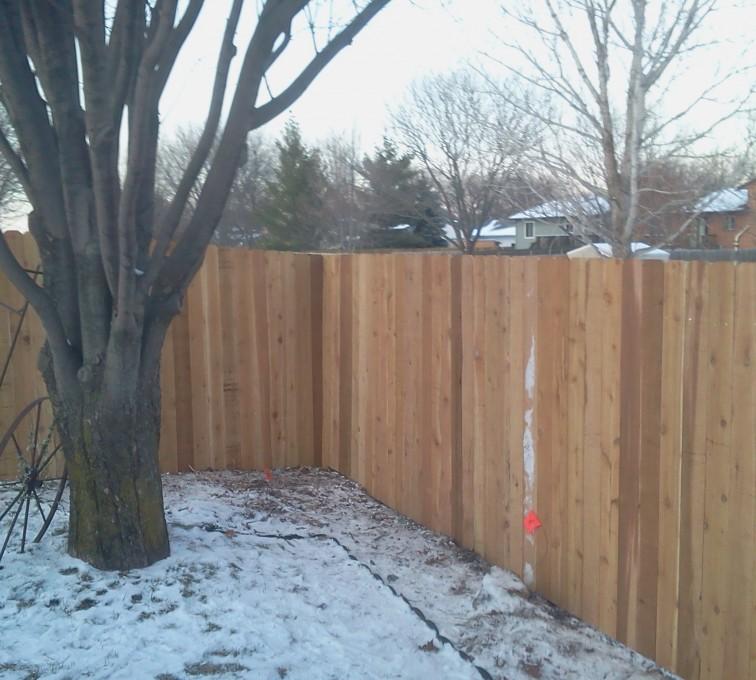 American Fence - Lincoln - Wood Fencing, Cedar Privacy 03 AFC, SD