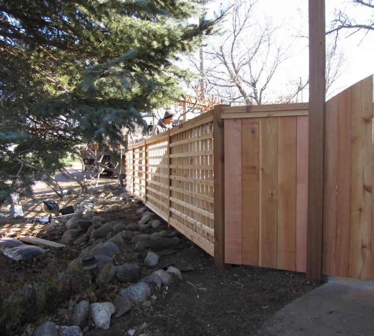 American Fence - Lincoln - Wood Fencing, Custom Cedar 10