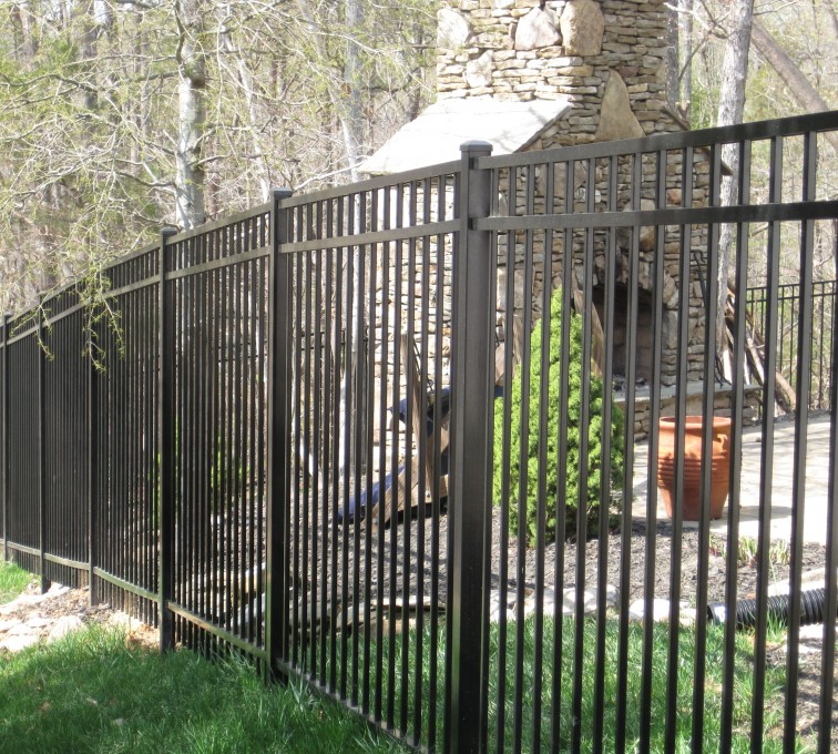 American Fence - Lincoln - American Ornamental Fencing, Flat Top