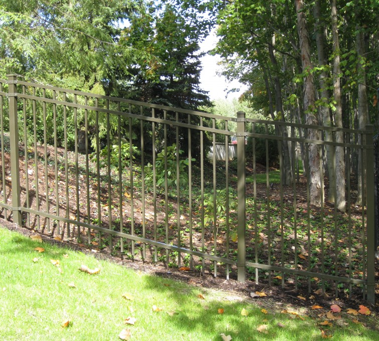 American Fence - Lincoln - American Ornamental Fencing, Flat Top (2)