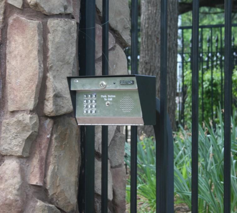 American Fence - Lincoln - Custom Gates, Estate Telephone Entry