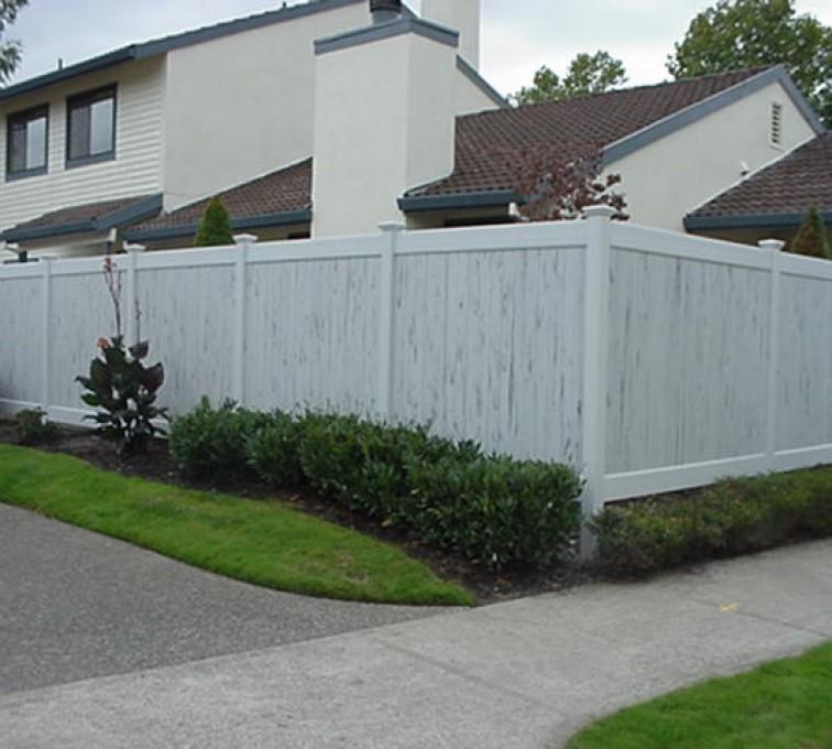 American Fence - Lincoln - Vinyl Fencing, Greystone (602)