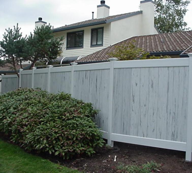 American Fence - Lincoln - Vinyl Fencing, Greystone (603)