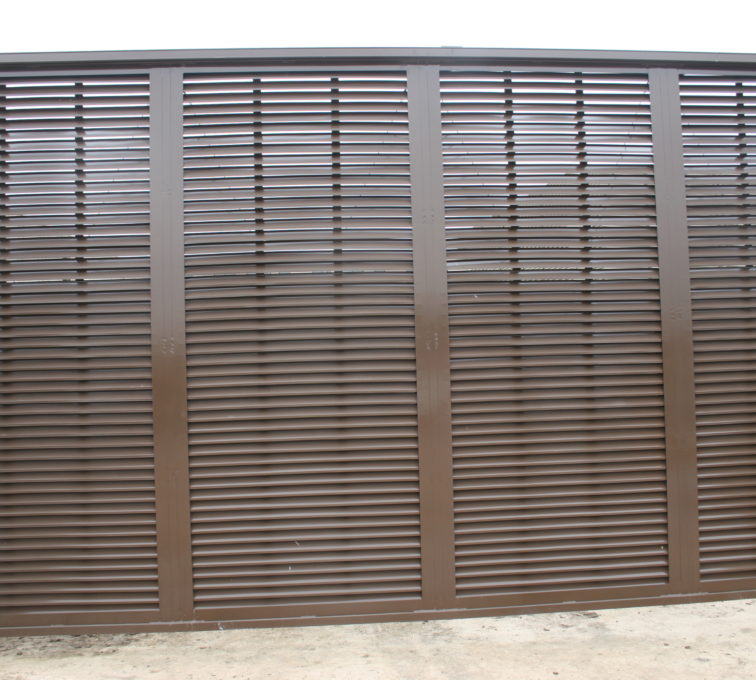 Louvered System