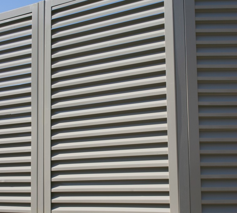 Louvered Fence Systems Gallery American Fence Company