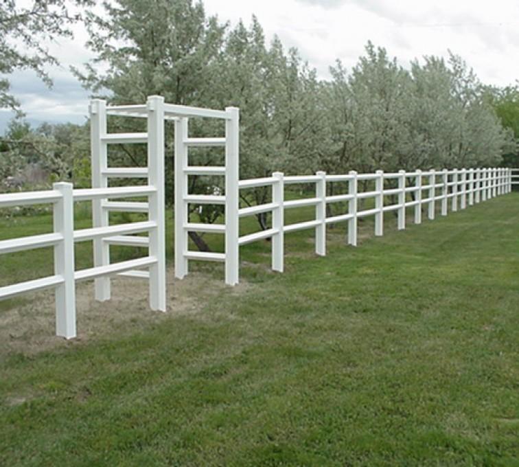 American Fence - Lincoln - Vinyl Fencing, MVC-005F