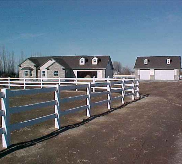 American Fence - Lincoln - Vinyl Fencing, MVC-0071S