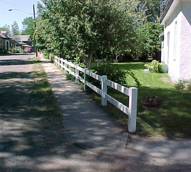 American Fence - Lincoln - Vinyl Fencing, MVC-010S