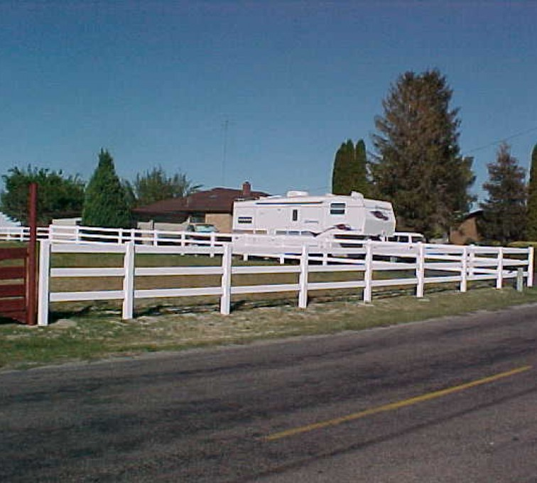 American Fence - Lincoln - Vinyl Fencing, MVC-022S