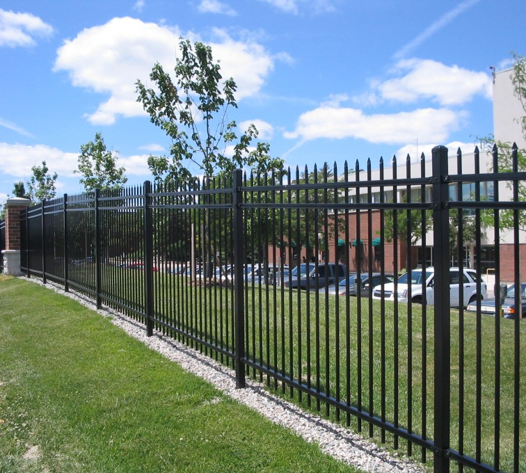 American Fence - Lincoln - American Ornamental Fencing, Spear Top (2)