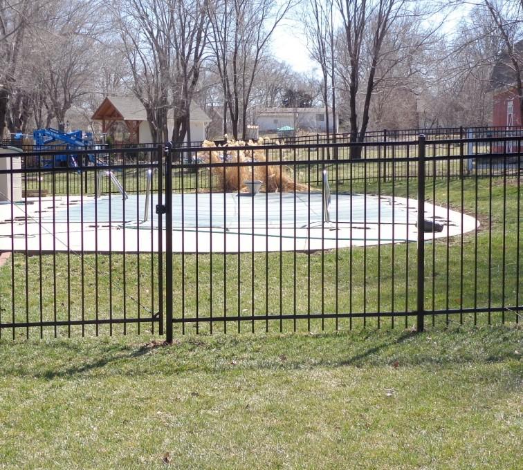 American Fence - Lincoln - Ornamental Fencing, 5' - AFC-KC
