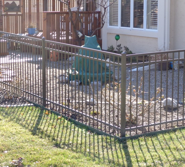 American Fence - Lincoln - Ornamental Fencing, Bronze - AFC-KC