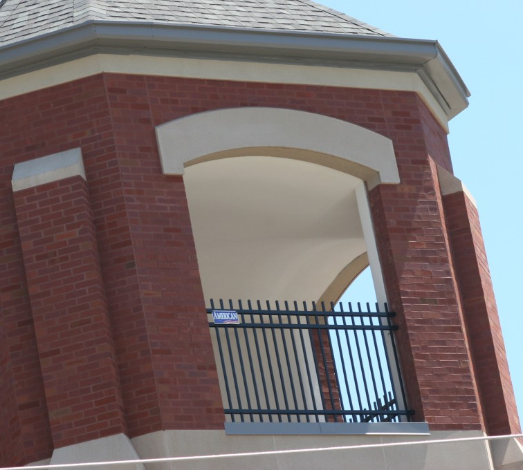 American Fence - Lincoln - Ornamental Fencing, Ornamental Fence In Bell Tower (2)