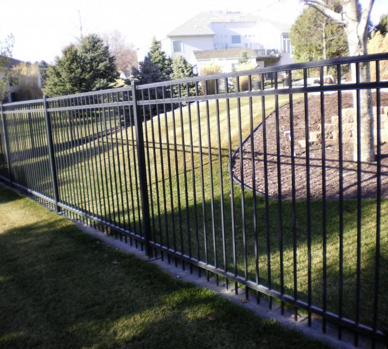 American Fence - Lincoln - Ornamental Fencing, Ornamental Flat Top