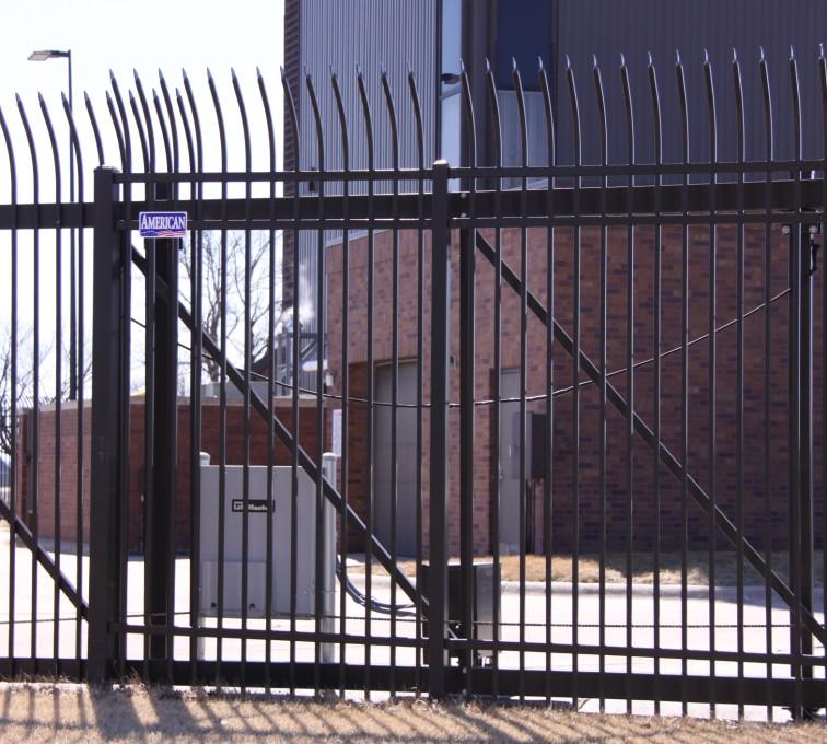 American Fence - Lincoln - Custom Gates, Ornamental Slide Gate