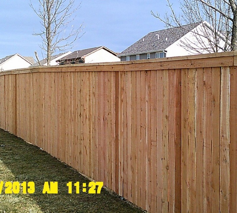 American Fence - Lincoln - Wood Fencing, Picket Capboard - AFC - IA