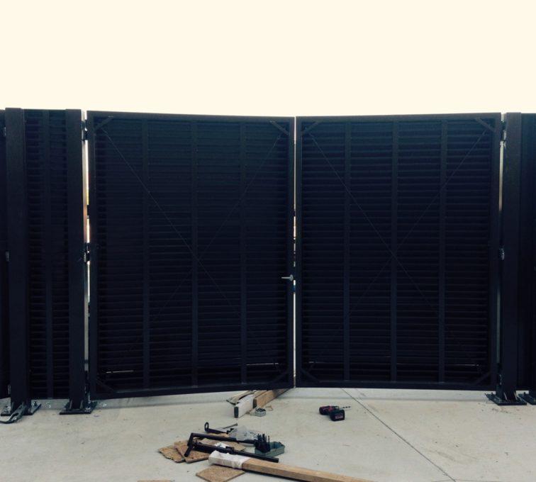 PalmShield Gate Install