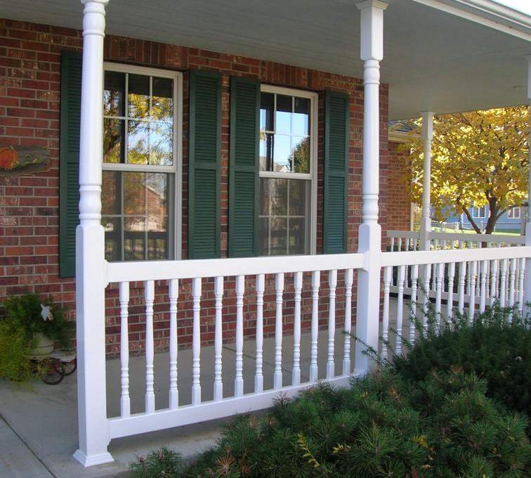 American Fence - Lincoln - Custom Railing, Porch Rail