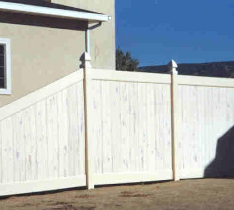 American Fence - Lincoln - Vinyl Fencing, Privacy Cedarcrest (618)