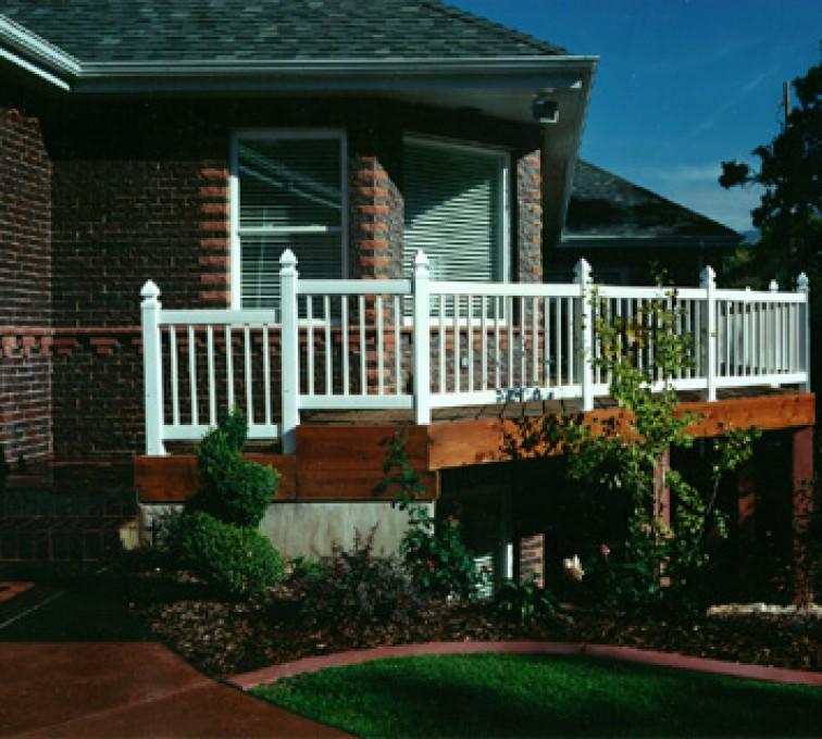 American Fence - Lincoln - Custom Railing, Railing (906)