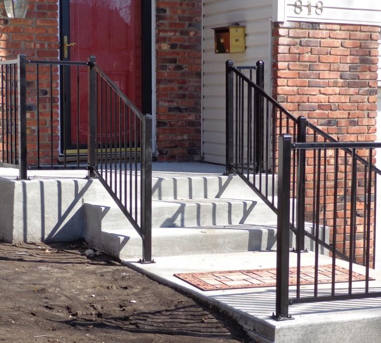 American Fence - Lincoln - Custom Railing, Ornamental (2)- AFC-KC