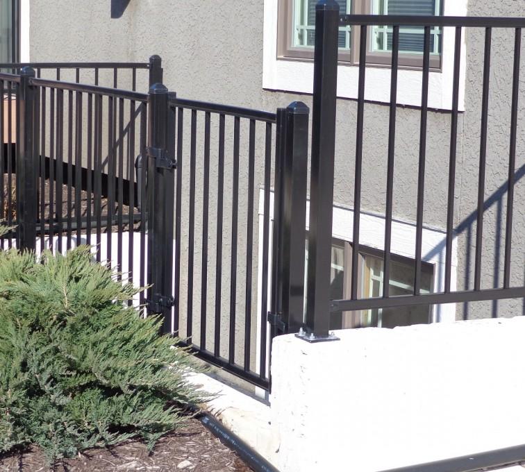 American Fence - Lincoln - Custom Railing, Ornamental - AFC-KC