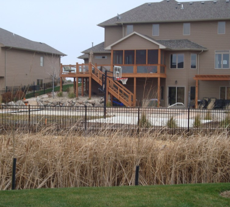 American Fence - Lincoln - Ornamental Fencing, Residential Flat Top Ornamental Fence