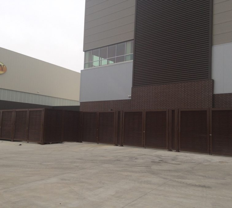 Louvered Fence Design