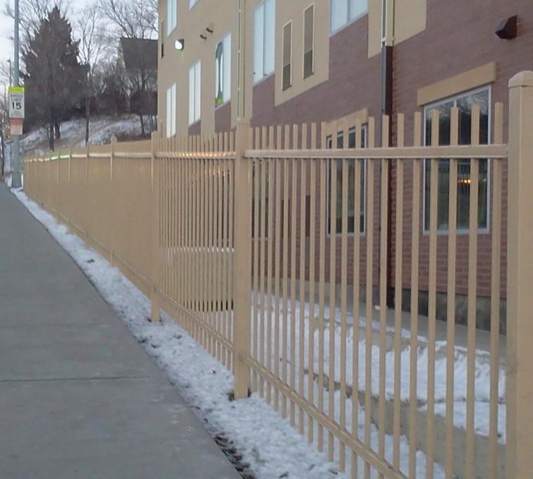 American Fence - Lincoln - Ornamental Fencing, Sandstone Ornamental Fence