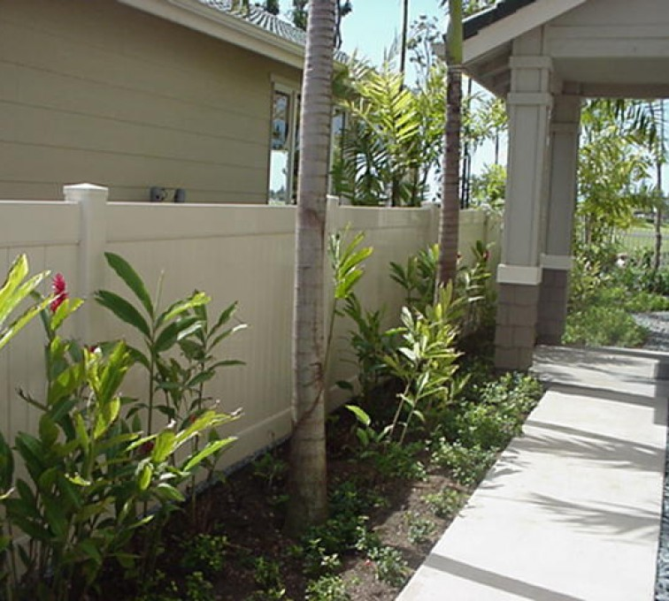 American Fence - Lincoln - Vinyl Fencing, Solid Privacy (605)