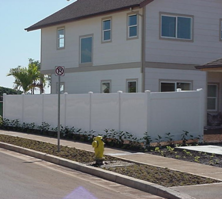 American Fence - Lincoln - Vinyl Fencing, Solid Privacy (609)