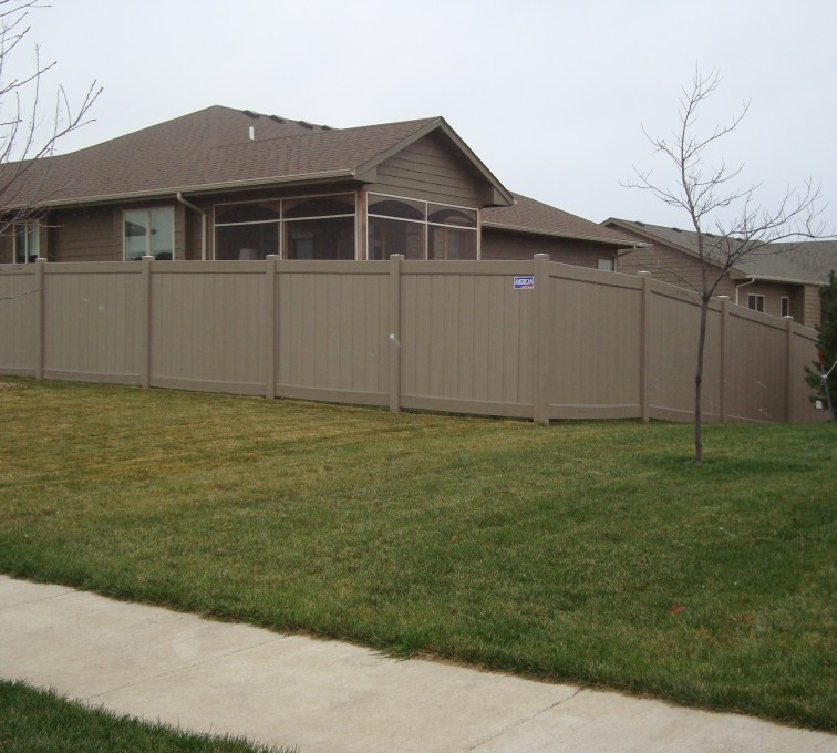 Privacy With Accent American Fence Company Lincoln Ne