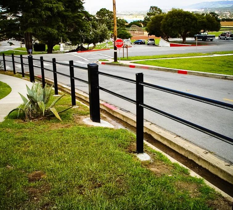 American Fence - Lincoln - American Ornamental Fencing, Post & Rail