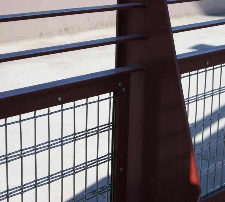 American Fence - Lincoln - Custom Railing, Vine 1