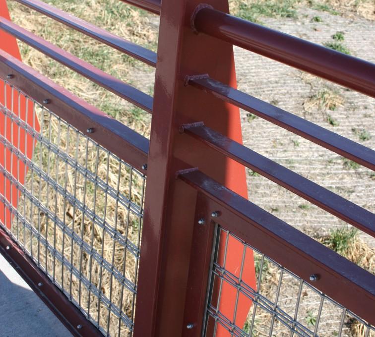 American Fence - Lincoln - Custom Railing, Vine 15